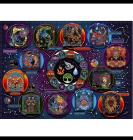 JaCaRou Puzzles Zodiaque (1000 pièces)