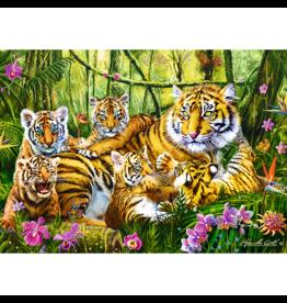 Trefl Famille de tigres (500 pièces)