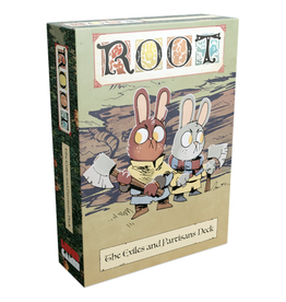 Leder Games Root : The Exiles and Partisans Deck [anglais]