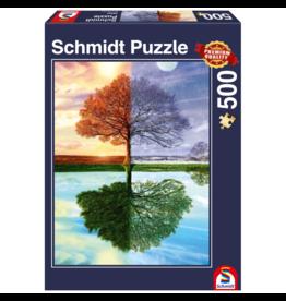 Schmidt Puzzle Seasons (500 pièces)