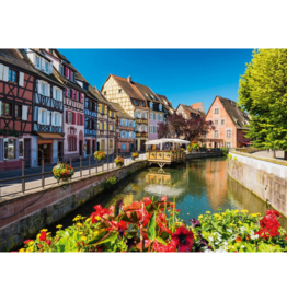 Schmidt Puzzle Little Village with Half-timbered Houses (1000 pièces)
