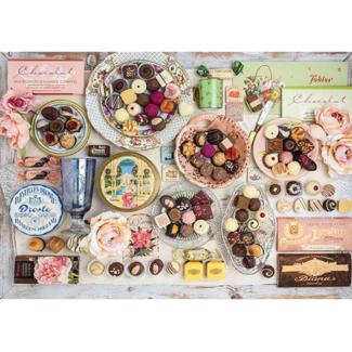 Schmidt Puzzle Nostalgic Chocolates (1500 pièces)