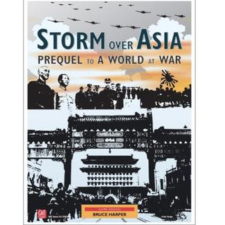 GMT games Storm over Asia [anglais]