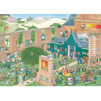 Jumbo The Art Market (1000 pièces)