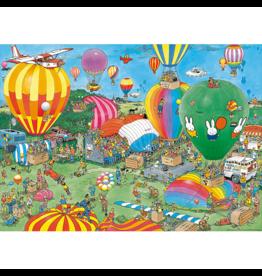 Jumbo Spiele Hooray, Miffy 65 years, JvH (1000 pièces)