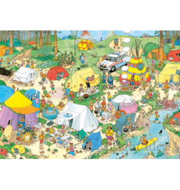 Jumbo Spiele Camping in the Forest, JvH (1000 pièces)