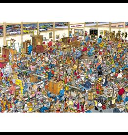 Jumbo Spiele Ah, les puces!, JvH (1000 pièces)