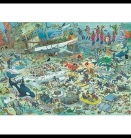 Jumbo Monde sous - marin,  JvH (1000 pièces)