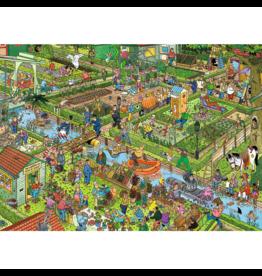 Jumbo Spiele Le jardin de légumes (1000 pièces)