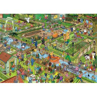 Jumbo Le jardin de légumes (1000 pièces)