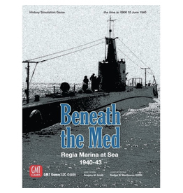 GMT games Beneath the Med [anglais]