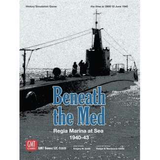 GMT games Beneath the Med [English]
