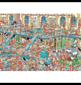Jumbo Spiele Reveillon,Usine  Santa, JvH (2 x 1000 pièces)