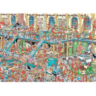 Jumbo Reveillon,Usine  Santa, JvH (2 x 1000 pièces)