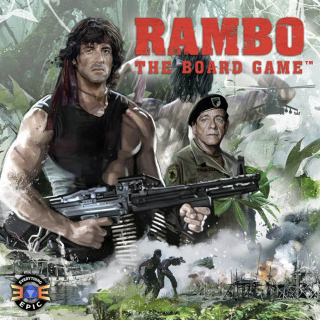 Everything Epic Games Rambo - The Board Game [English]