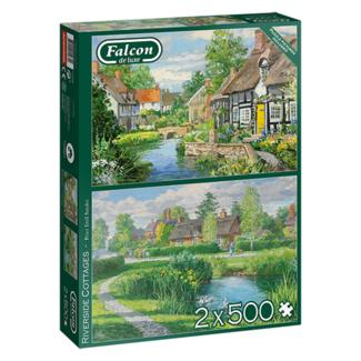 Falcon Riverside Cottages (2 x 500 pièces)