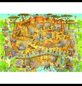 Heye Funky Zoo, African Habitat (1000 pièces)