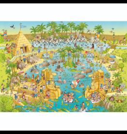 Heye Funky Zoo, Nile Habitat (1000 pièces)