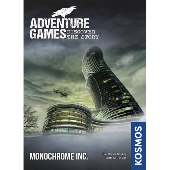 Kosmos Adventure Games (2) - Monochrome INC. [English]