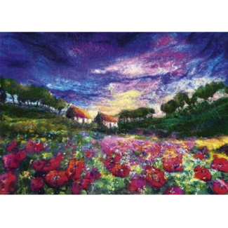Heye Sundown Poppies (1000 pieces)