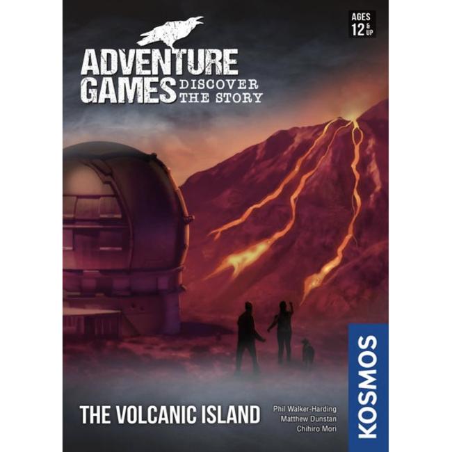 Kosmos Adventure Games (3) - The Volcanic Island [English]