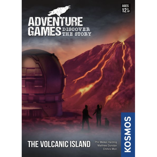 Kosmos Adventure Games (3) - Volcanic Island [English]