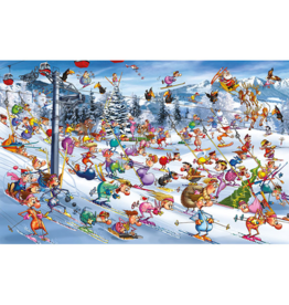 Piatnik Ski de Noel (1000 pièces)