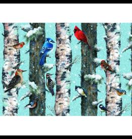 Piatnik Les oiseaux de Noël (1000 pièces)