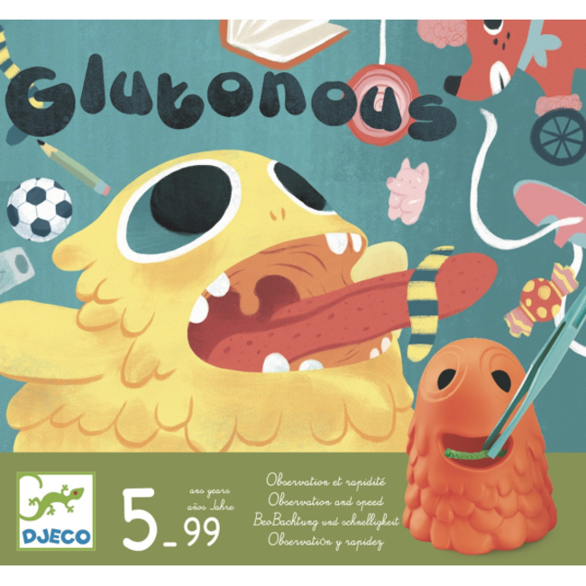 Djeco Gloutons [multilingue]