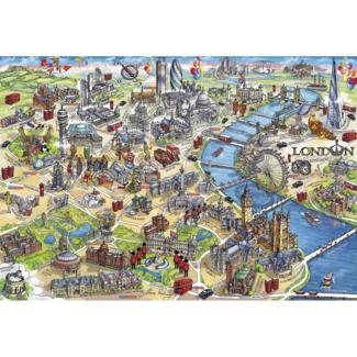 Gibsons London Landmarks (500 pieces)