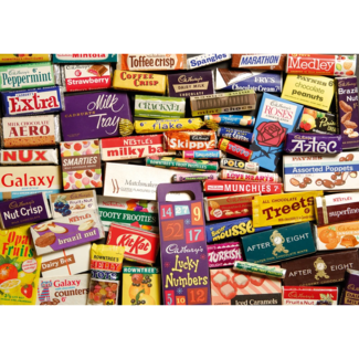 Gibsons 1960S Sweet Memories Gift Tin (500 pieces)