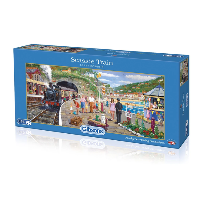 Gibsons Seaside Train (636 pièces)