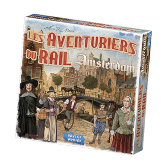 Days of Wonder Aventuriers du rail (les) - Amsterdam [French]