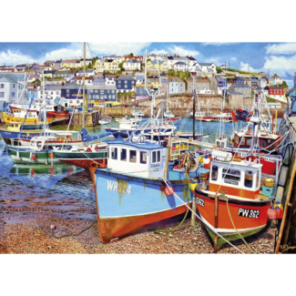 Gibsons Mevagissey Harbour (1000 pieces)