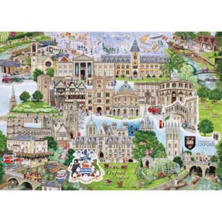 Gibsons Oxford (1000 pieces)