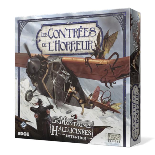 Fantasy Flight Games Contrées de l'horreur (les) : Les montagnes hallucinées [French]