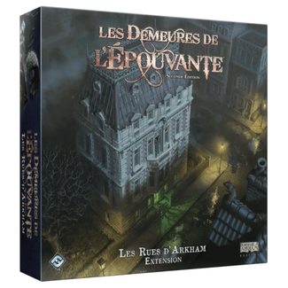 Fantasy Flight Games Demeures de l'épouvante (les) (seconde édition) : Les Rues d'Arkham [French]