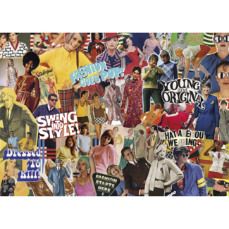 Gibsons Vintage Fashion (1000 pieces)