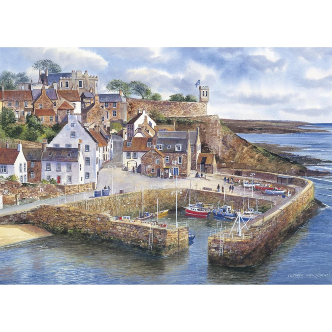 Gibsons Crail Harbour (1000 pieces)