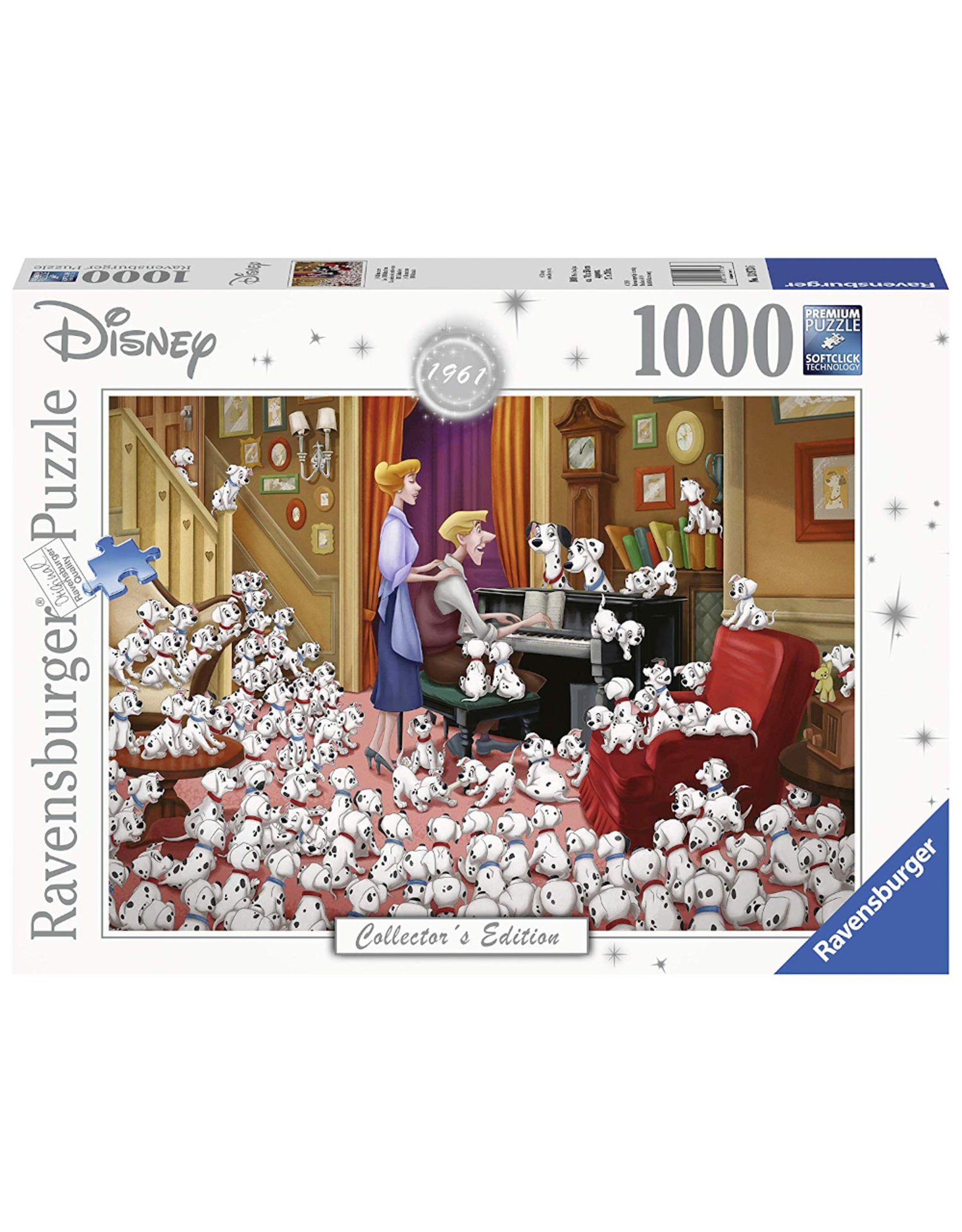 Ravensburger Disney - 101 Dalmations (1000 pièces)