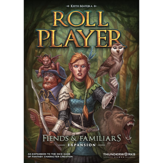 Thunderworks Games Roll Player : Fiends & Familiars [English]