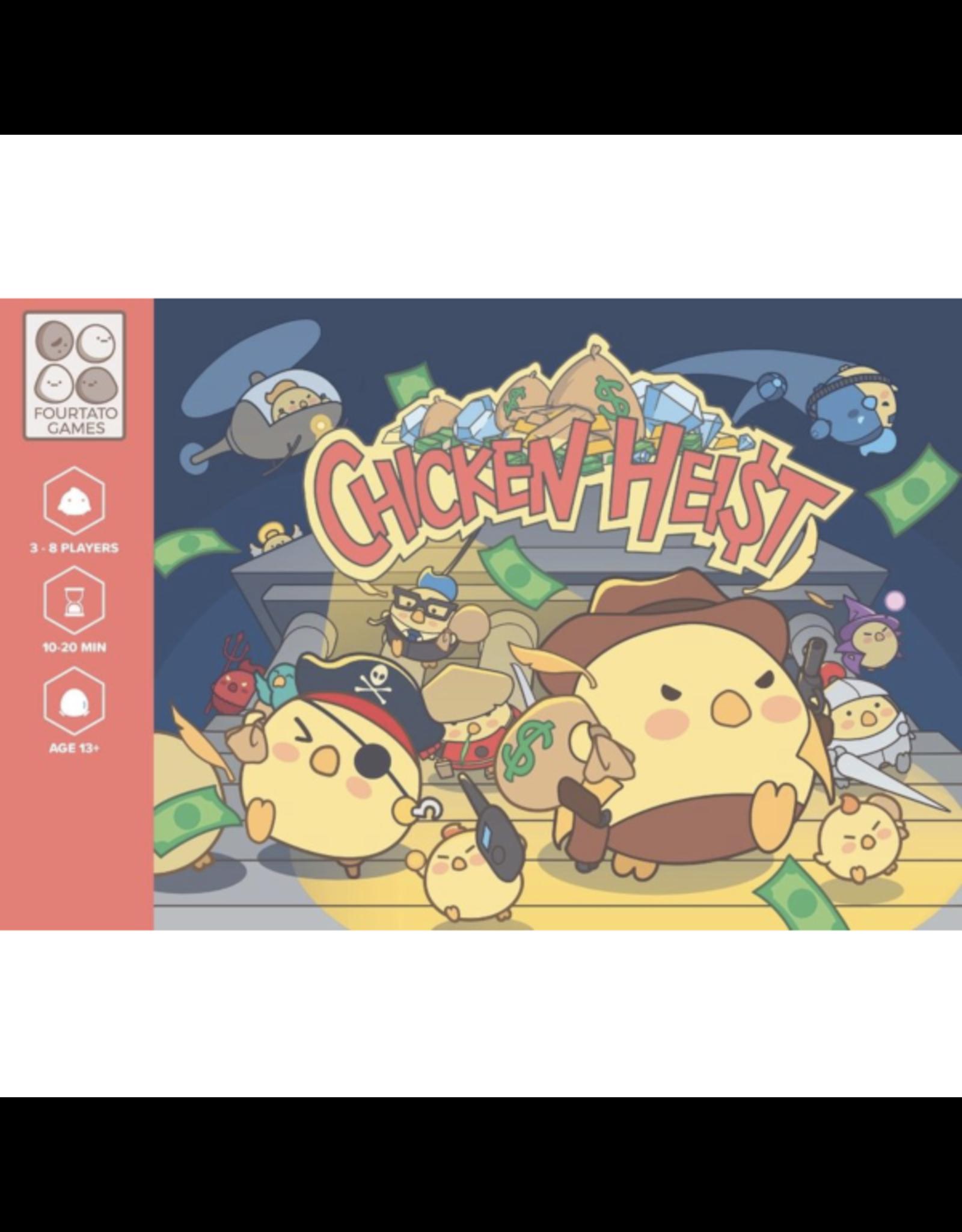 Fourtato Games Chicken Heist [anglais]