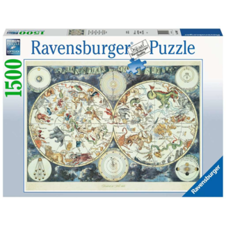 Ravensburger Map of the World (1500 pieces)