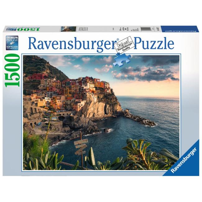 Ravensburger Cinque Terre Viewpoint (1500 pieces)
