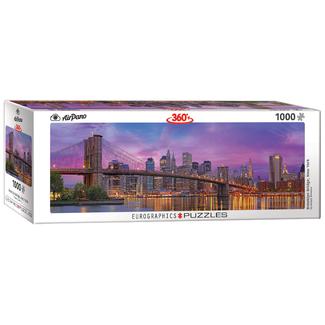 EuroGraphics Puzzle Brooklyn Bridge, New York (1000 pieces)