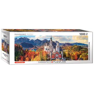 EuroGraphics Puzzle Neuschwanstein Castle in Autumn (1000 pieces)