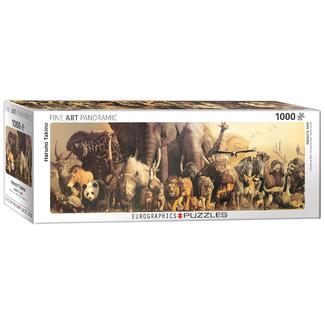 EuroGraphics Puzzle Arche de Noé - panoramique (1000 pièces)