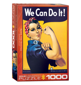 EuroGraphics Puzzle Rosie The Riveter (1000 pièces)