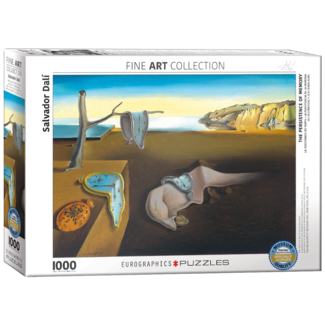 EuroGraphics Puzzle The Persistence of Memory (1000 pieces)