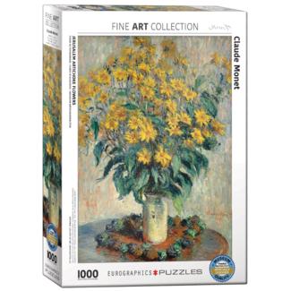 EuroGraphics Puzzle Jerusalem Artichoke Flowers (1000 pieces)
